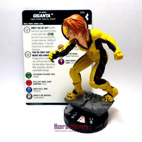 Heroclix DC Harley Quinn and the Gotham Girls – 055 Giganta