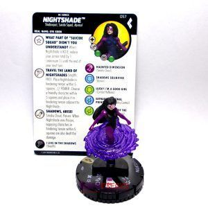 Heroclix DC Harley Quinn and the Gotham Girls – 057 Nightshade