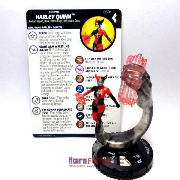 Heroclix DC Harley Quinn and the Gotham Girls – 059a Harley Quinn