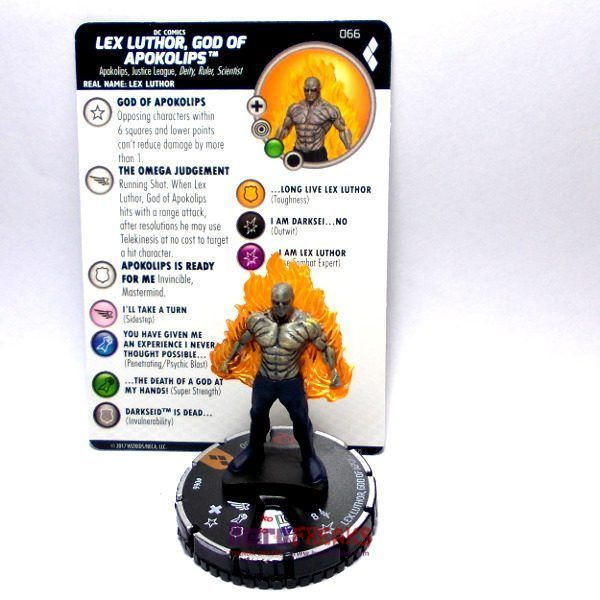 Heroclix DC Harley Quinn and the Gotham Girls – 066 Lex Luthor God of Apokolips