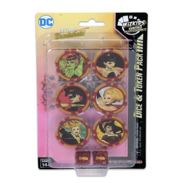 Heroclix DC Harley Quinn and the Gotham Girls - Dice & Token Pack