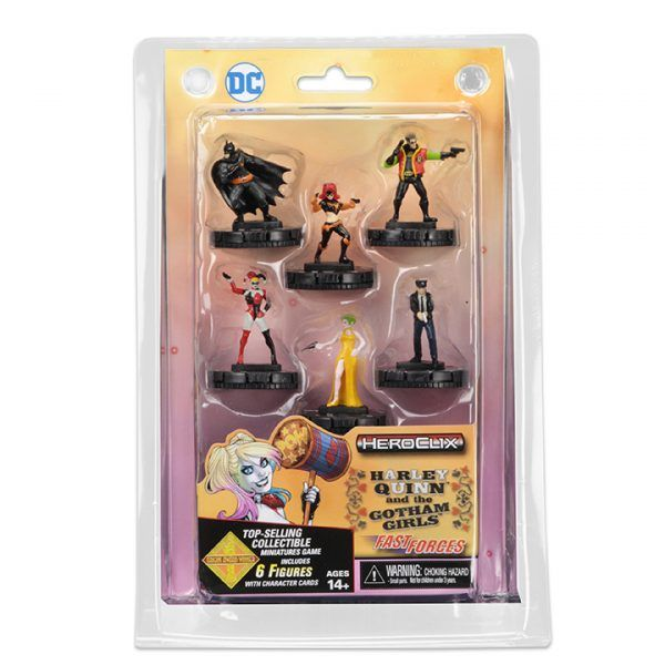 Heroclix DC Harley Quinn and the Gotham Girls - Fast Forces