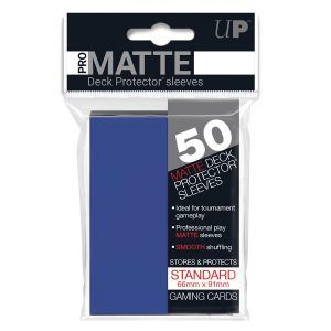 Fundas Ultra Pro Pro Matte Azul