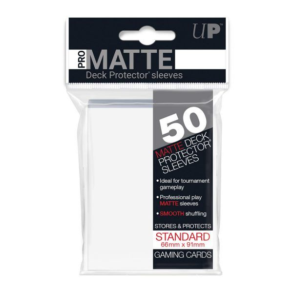 Fundas Ultra Pro Pro Matte Blanco