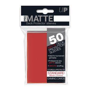 Fundas Ultra Pro Pro Matte Rojo