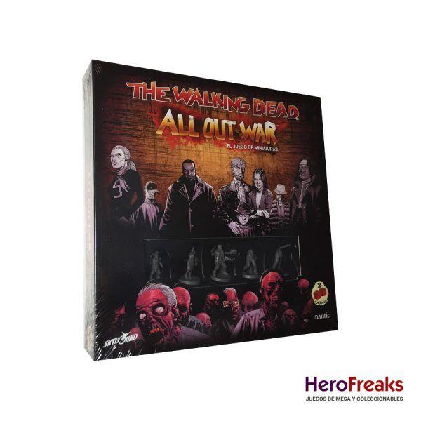 The Walking Dead All Out War - Caja Básica
