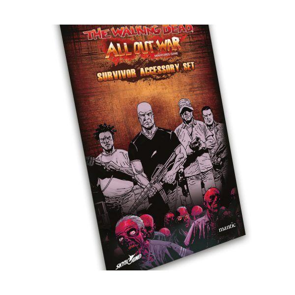 The Walking Dead All Out War - Kit Accesorios de Supervivientes3