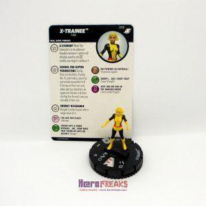Heroclix Marvel X-Men Xavier's School – 005 X-Trainee
