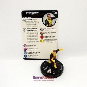 Heroclix Marvel X-Men Xavier's School – 006 X-Student