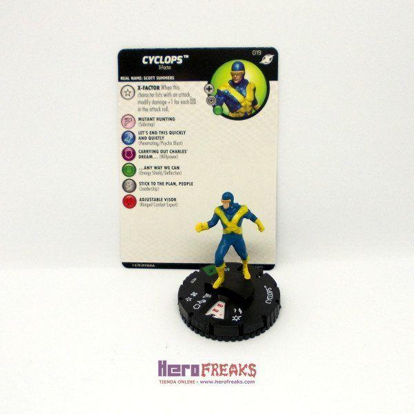 Heroclix Marvel X-Men Xavier's School – 019 Cyclops