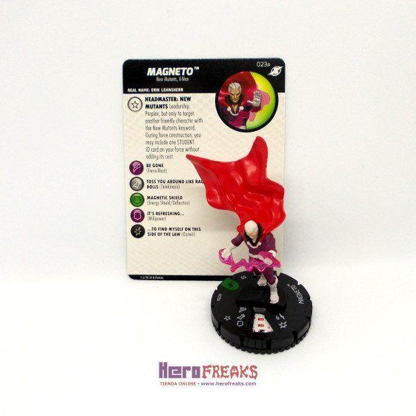 Heroclix Marvel X-Men Xavier's School – 023a Magneto