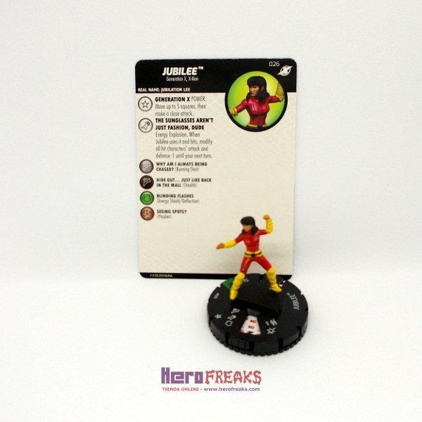 Heroclix Marvel X-Men Xavier's School – 026 Jubilee