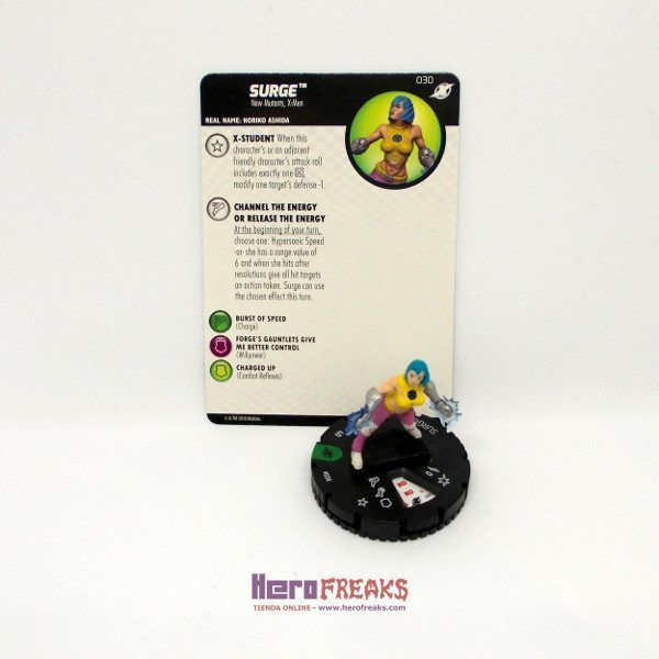 Heroclix Marvel X-Men Xavier's School – 030 Surge