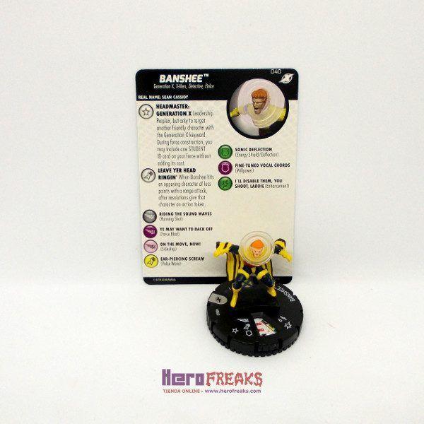 Heroclix Marvel X-Men Xavier's School – 040 Banshee