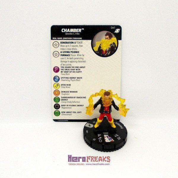 Heroclix Marvel X-Men Xavier's School – 041 Chamber