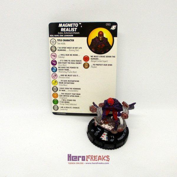 Heroclix Marvel X-Men Xavier's School – 050 Magneto Realist