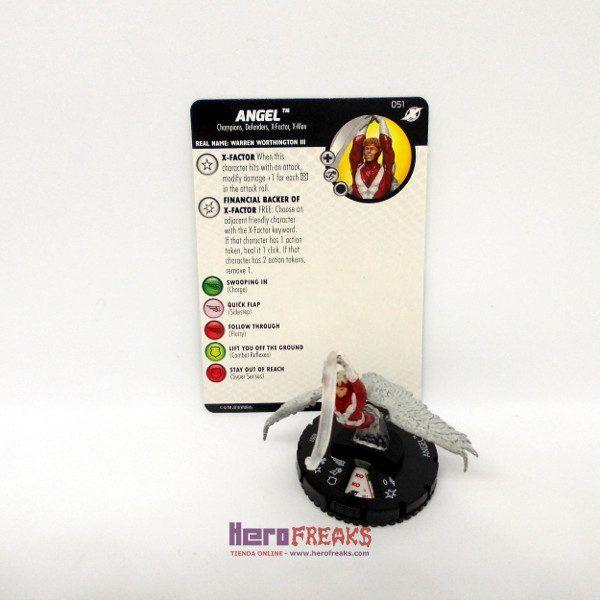Heroclix Marvel X-Men Xavier's School – 051 Angel