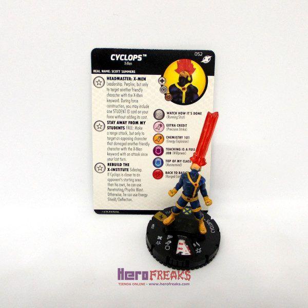 Heroclix Marvel X-Men Xavier's School – 052 Cyclops