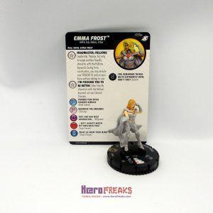 Heroclix Marvel X-Men Xavier's School – 059a Emma Frost