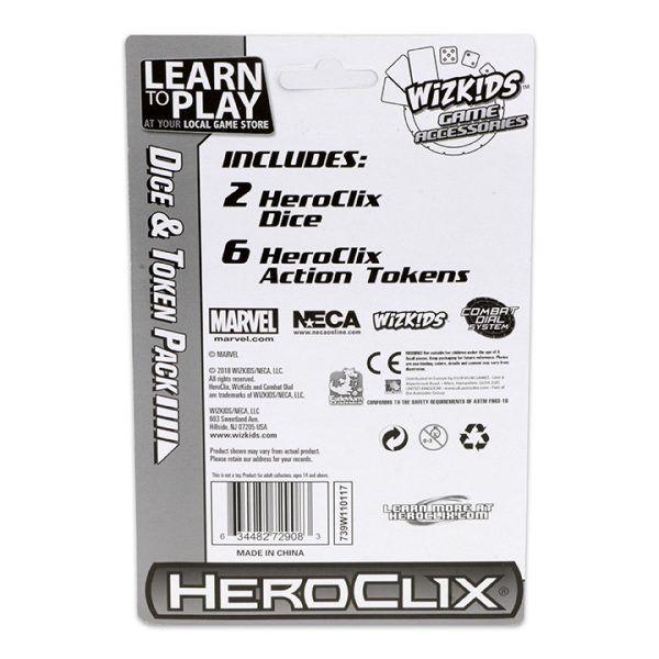 Heroclix Marvel X-Men Xaviers School - Dice and Token