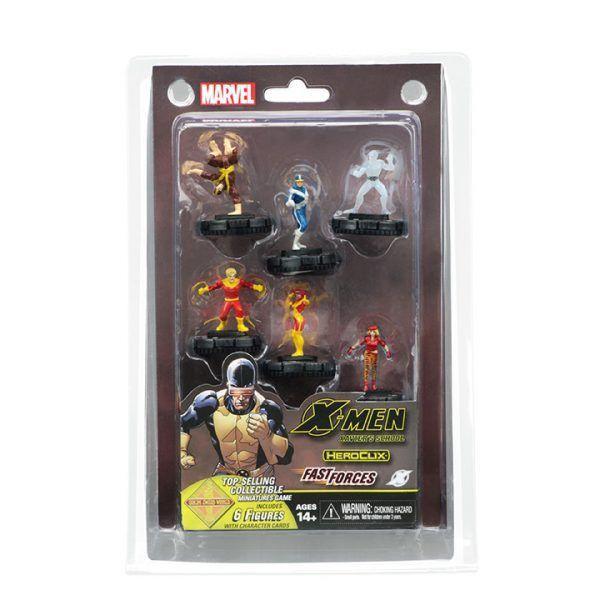 Heroclix Marvel X-Men Xaviers School - Fast Forces