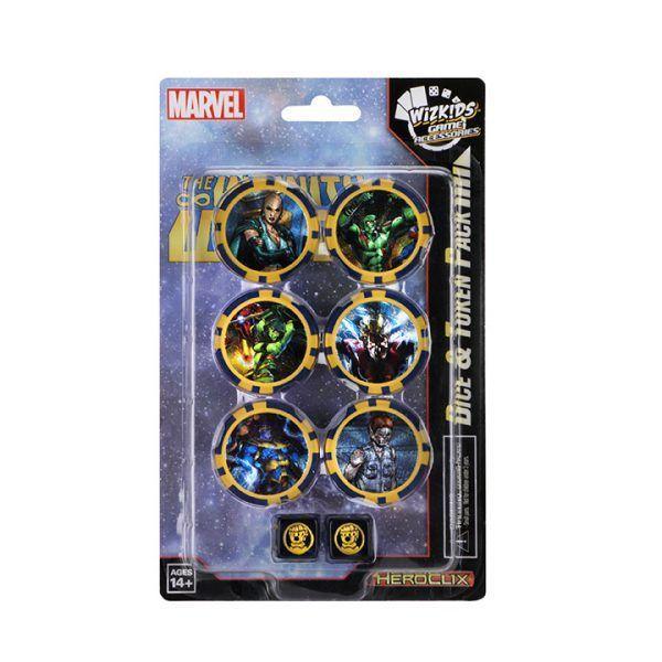 Avengers Infinity Dice & Token
