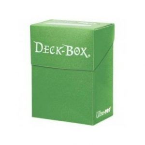 Deck Box Ultra Pro Verde Lima