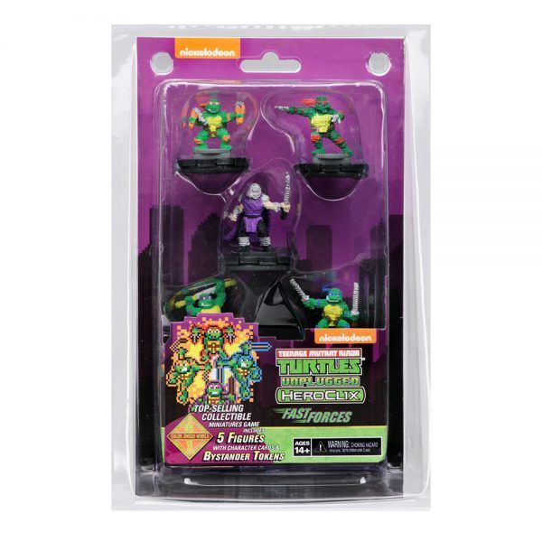 Heroclix TMNT Unplugged Fast Forces