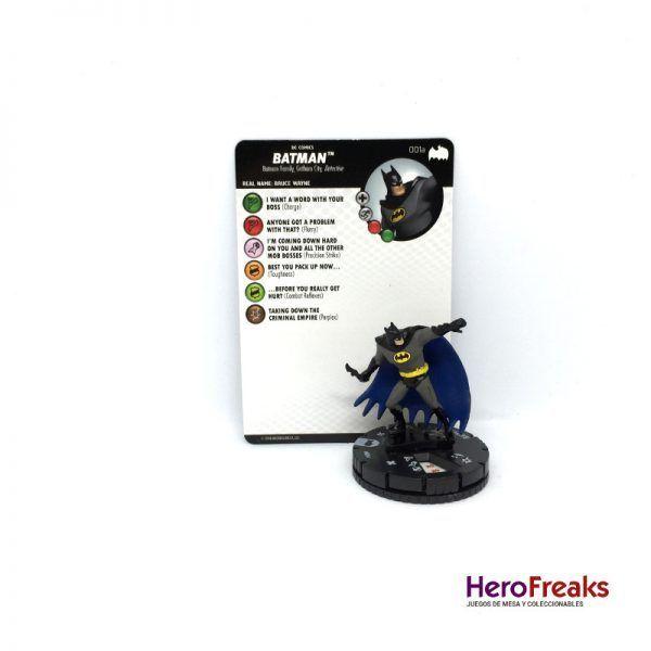 Heroclix Batman TAS – 001a Batman