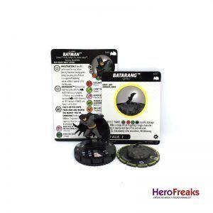 Heroclix Batman TAS – 040 Batman + S001 Batarang