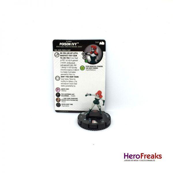 Heroclix Batman TAS – 043 Posion Ivy
