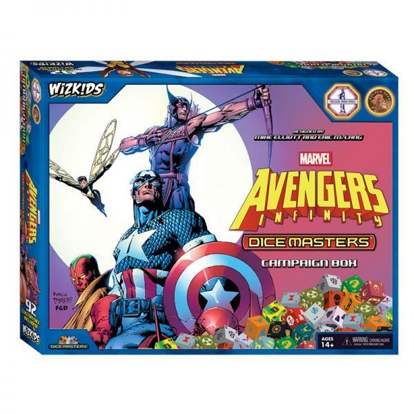 Dice Masters Avengers Infinity - Campaign Box