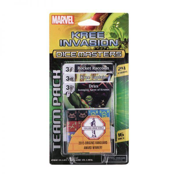 Dice Masters Kree Invasion Team Pack