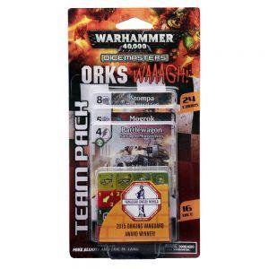 Dice Masters Warhammer 40000 Orks Waaagh! - Team Pack
