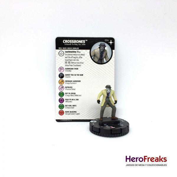 Heroclix Secret Wars Battleworld – 004 Crossbones