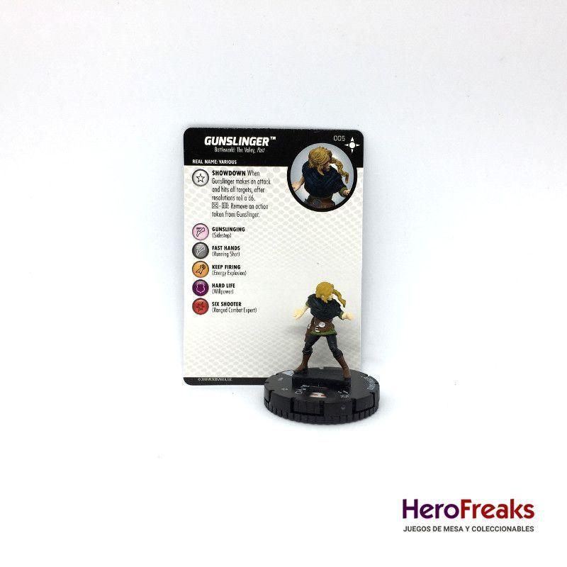 HEROCLIX Secret War Battleworld 005 GUNSLINGER
