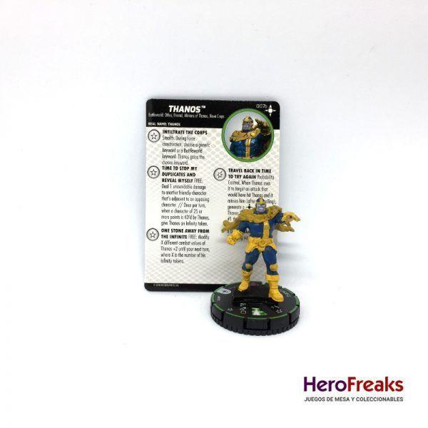 Heroclix Secret Wars Battleworld – 007b Thanos