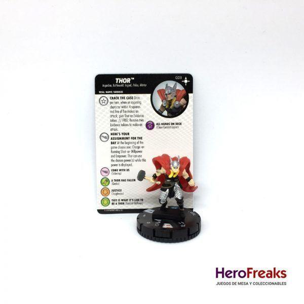 Heroclix Secret Wars Battleworld – 009 Thor