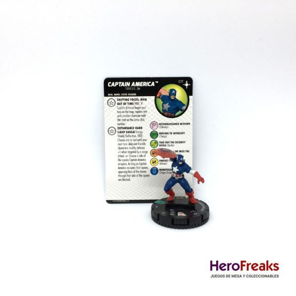Heroclix Secret Wars Battleworld – 017 Captain America