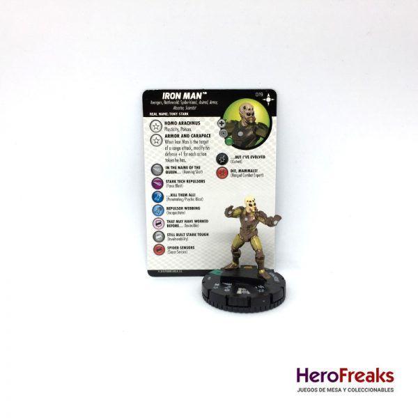 Heroclix Secret Wars Battleworld – 019 Iron Man