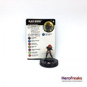 Heroclix Secret Wars Battleworld – 021 Black Widow