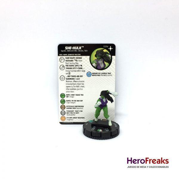Heroclix Secret Wars Battleworld – 023a She-Hulk