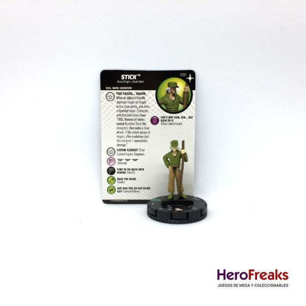 Heroclix Secret Wars Battleworld – 030 Stick