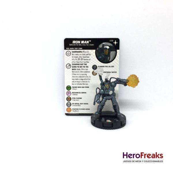 Heroclix Secret Wars Battleworld – 038 Iron Man