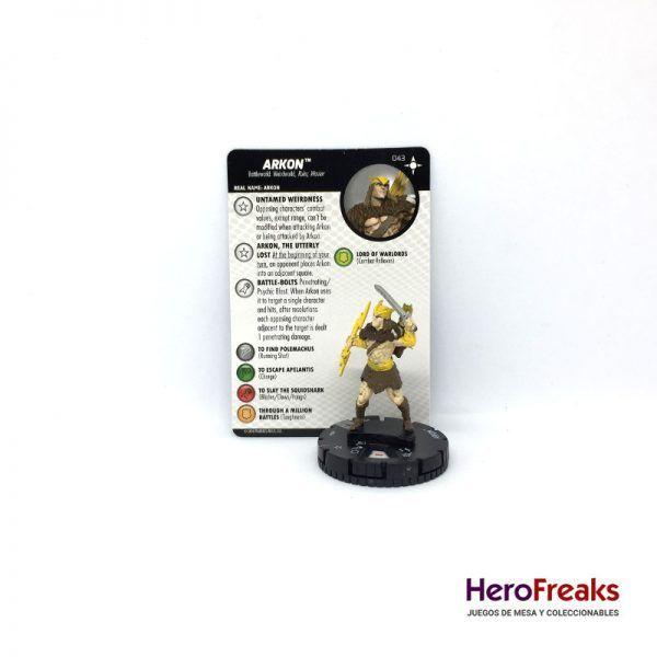 Heroclix Secret Wars Battleworld – 043 Arkon