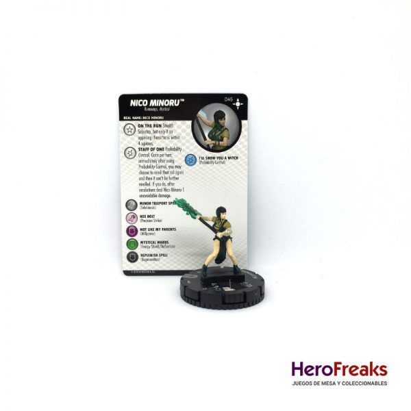 Heroclix Secret Wars Battleworld – 045 Nico Minoru