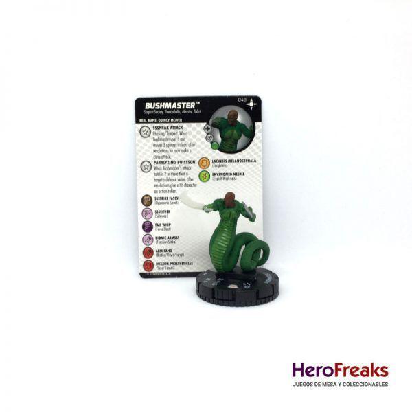 Heroclix Secret Wars Battleworld – 048 Bushmaster