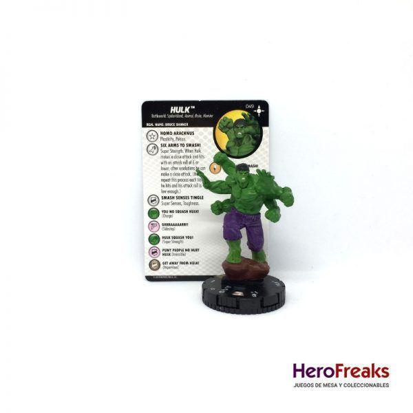 Heroclix Secret Wars Battleworld – 049 Hulk
