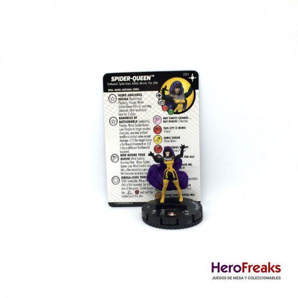 Heroclix Secret Wars Battleworld – 051 Spider-Queen