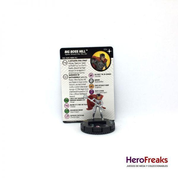 Heroclix Secret Wars Battleworld – 054 Big Boss Hill